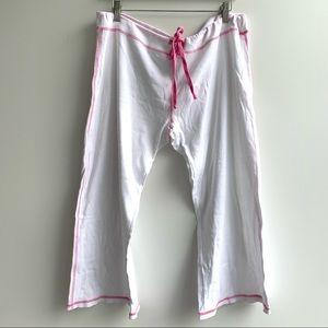 Victoria's Secret PINK Cropped Pajama Pants
